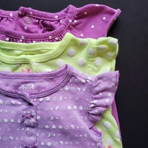 Baby Girls Bubble Rompers